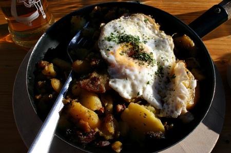 fork and pan