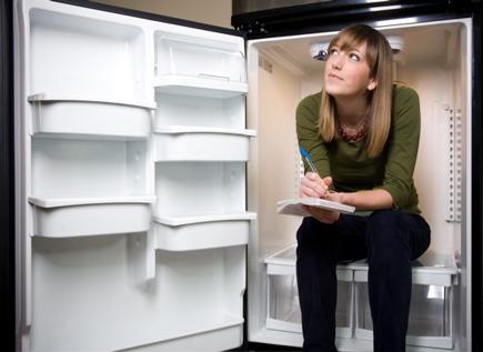 me in the fridge