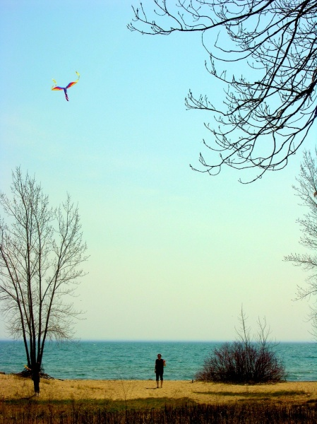 kiteflying