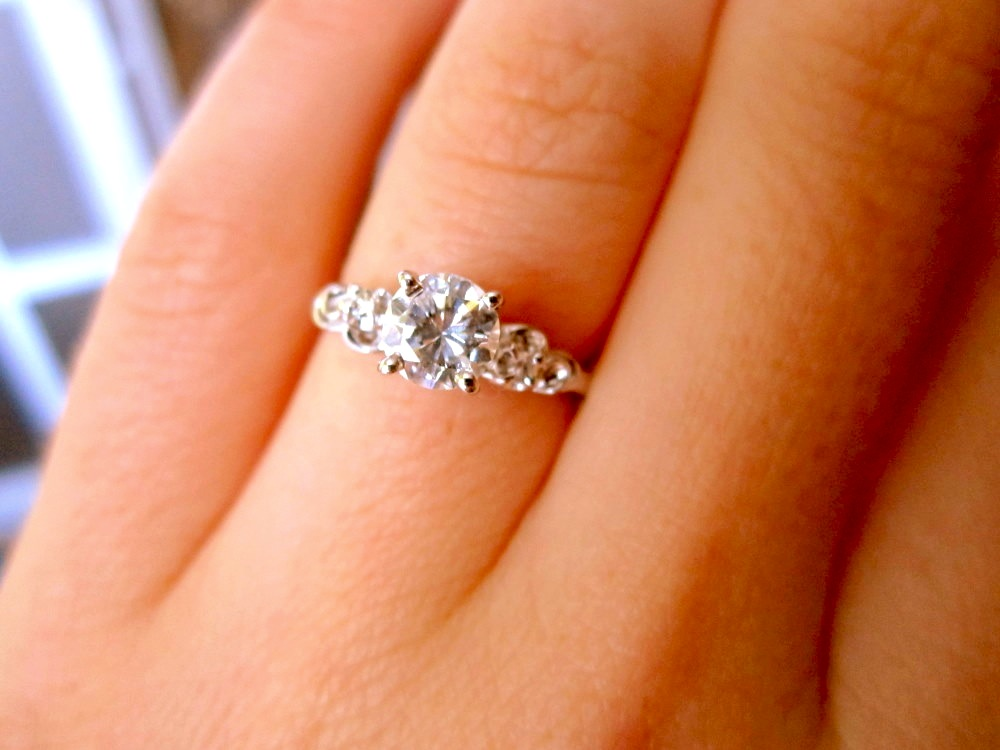 hipster engagement rings - photo #2
